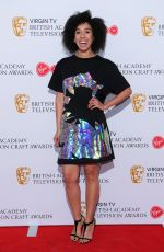 PEARL MACKIE at British Academy Television and Craft Awards Nominees Party in London 04/20/2017