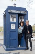 PEARL MACKIE at Doctor Who Cast Promotions at Southbank 04/12/2017