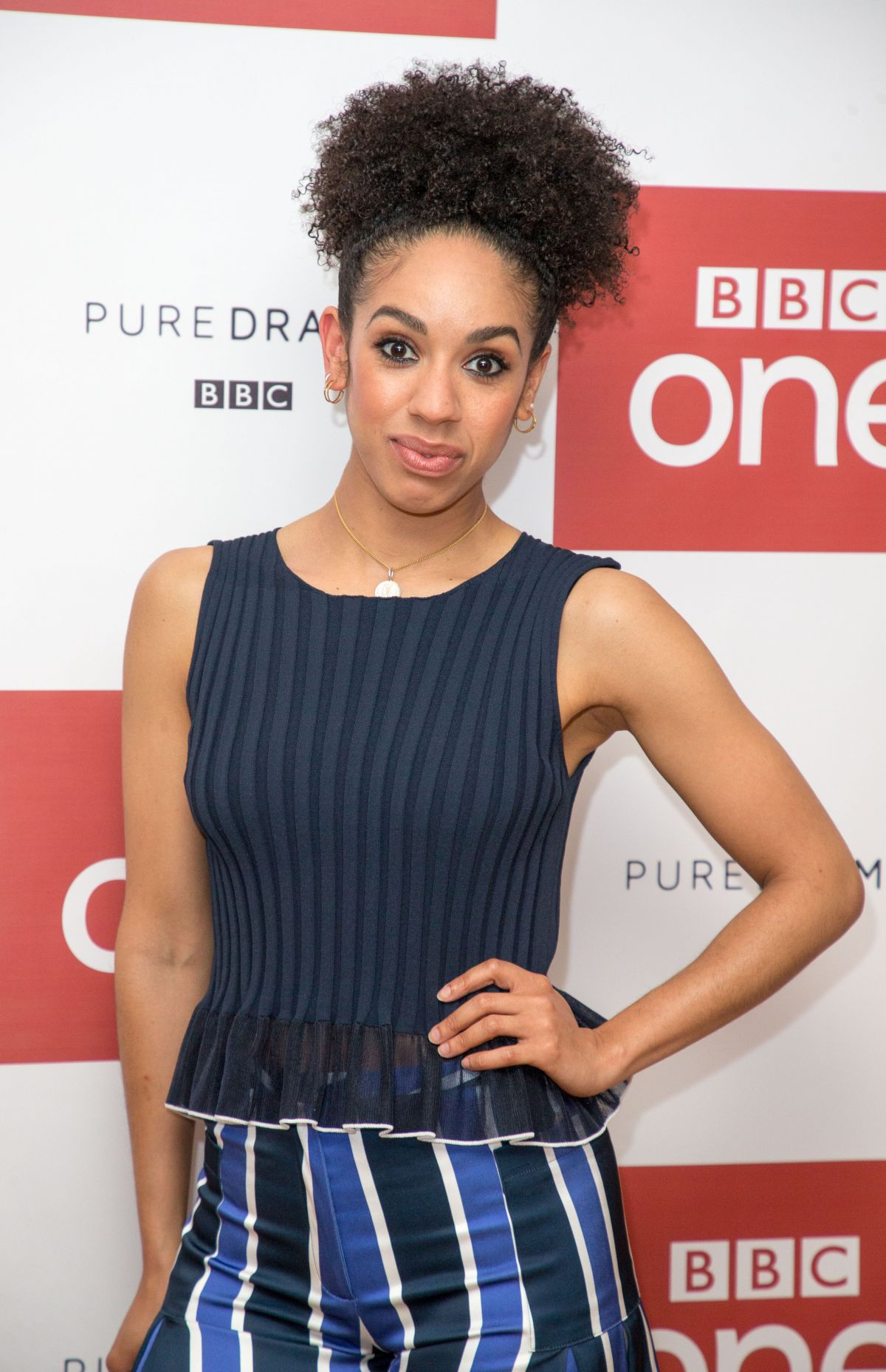 PEARL MACKIE at Doctor Who Season 10 Photocall in London 04/04/2017