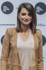 PENELOPE CRUZ Presents Leukemia Research Grant in Madrid 04/24/2017