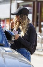 PERRIE EDWARDS Out and About in London 04/19/2017