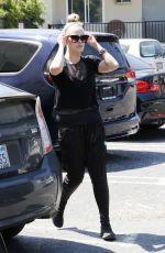 PETA MURGATROYD at Dancing With The Stars Studio in Los Angeles 04/04/2017