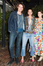 PETRA COLLINS at Sally Singer and Lisa Love Denim Dinner in Los Angeles 04/05/2017