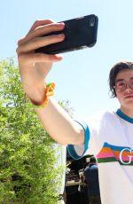 PEYTON ROI LIST at Popsugar & CFDA Brunch at Coachella 04/15/2017