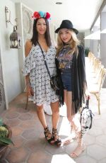 PEYTON ROI LIST at Rebecca Minkoff and Smashbox Lunch in Palm Springs 04/16/2017