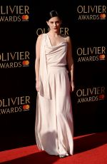PHOEBE FOX at Olivier Awards in London 04/09/2017