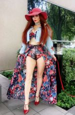 PHOEBE PRICE Out in Beverly Hills  04/24/2017