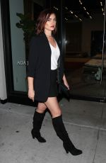 PHOEBE TONKIN Out for Dinner at Catch LA in West Hollywood 04/01/2017