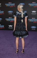 POM KLEMENTIEFF at Guardians of the Galaxy Vol. 2 Premiere in Hollywood 04/19/2017