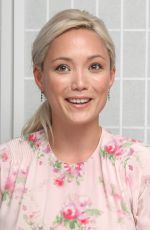 POM KLEMENTIEFF at Guardians of the Galaxy Vol. 2 Press Conference in Los Angeles 04/20/2017