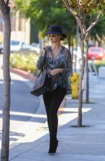 Pregnant ROSIE HUNTINGTON-WHITELEY Out Shopping in West Hollywood 04/02/2017