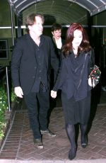PRISCILLA PRESLEY at Sunset Marquis in Los Angeles 04/05/2017