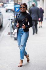 PRIYANKA CHOPRA in Ripped Jeans Out in New York 04/19/2017
