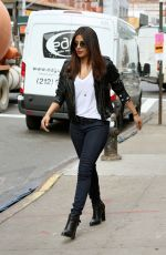 PRIYANKA CHOPRA on the Set of Quantico in New York 04/05/2017