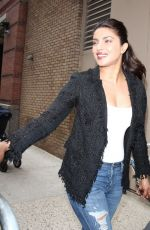 PRIYANKA CHOPRA Out and About in New York 04/17/2017