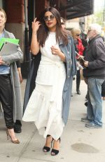PRIYANKA CHOPRA Out and About in New York 04/20/2017