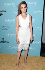 RACHAEL LEIGH COOK at LA Family Housing Awards in Los Angeles 04/27/2017