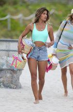 RACHEL BARNES on the Beach in Miami 03/26/2017