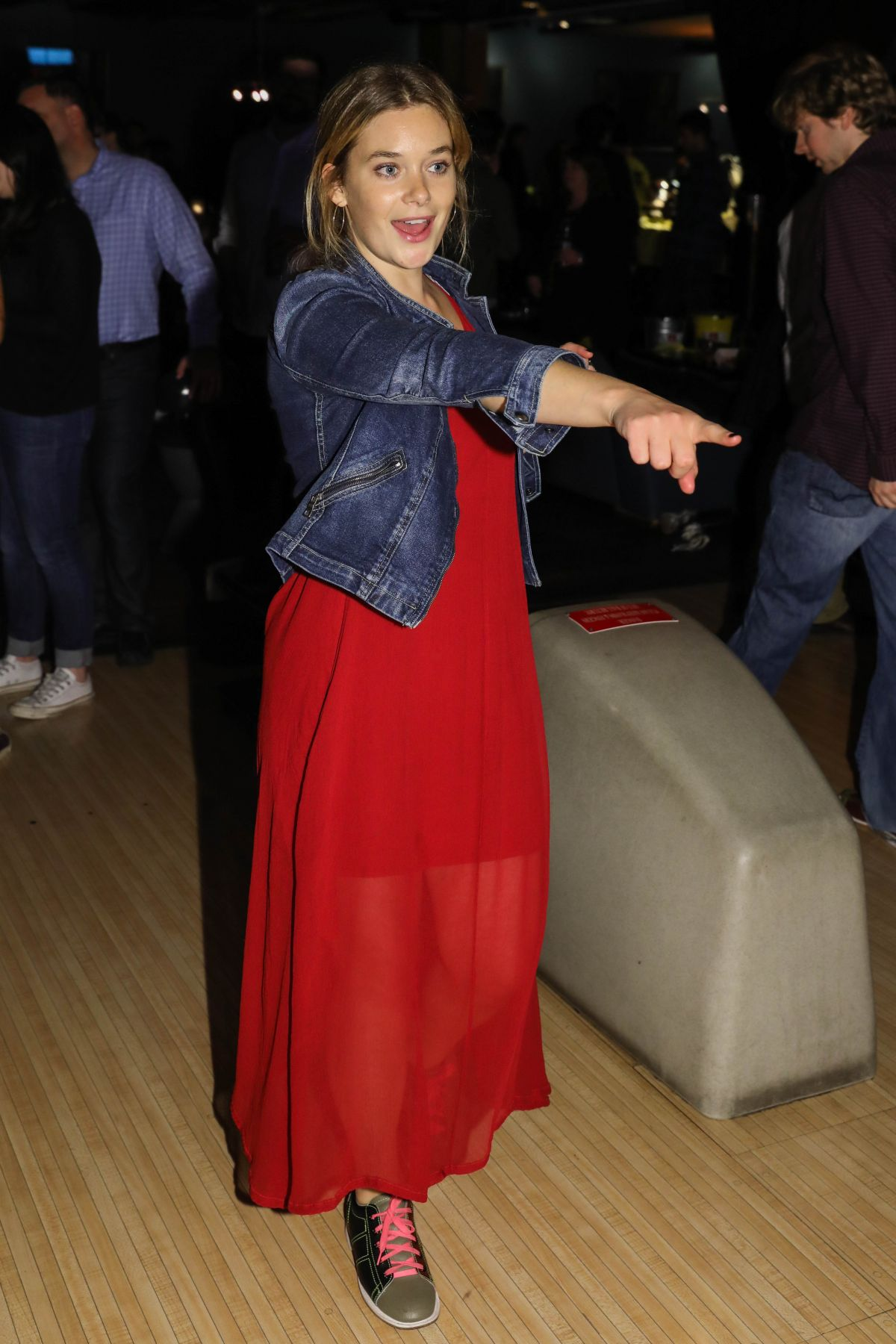 RACHEL KELLER at 8th Annual FX All-Star Bowling Party in New York 04/06/2017