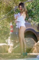 RACHEL MCCORD in Bikini at a Pool in Indio 04/15/2017