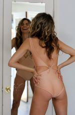 RACHEL MCCORD in Bikini on the Set of a Photoshoot in Los Angeles 04/09/2017