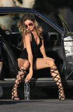 RACHEL MCCORD on the Set for 138 Water in Universal City 04/25/2017