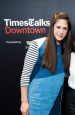 RASHIDA JONES at Timestalks Presents Rashida Jones in Conversation with Katherine Rosman in New York 04/19/2017