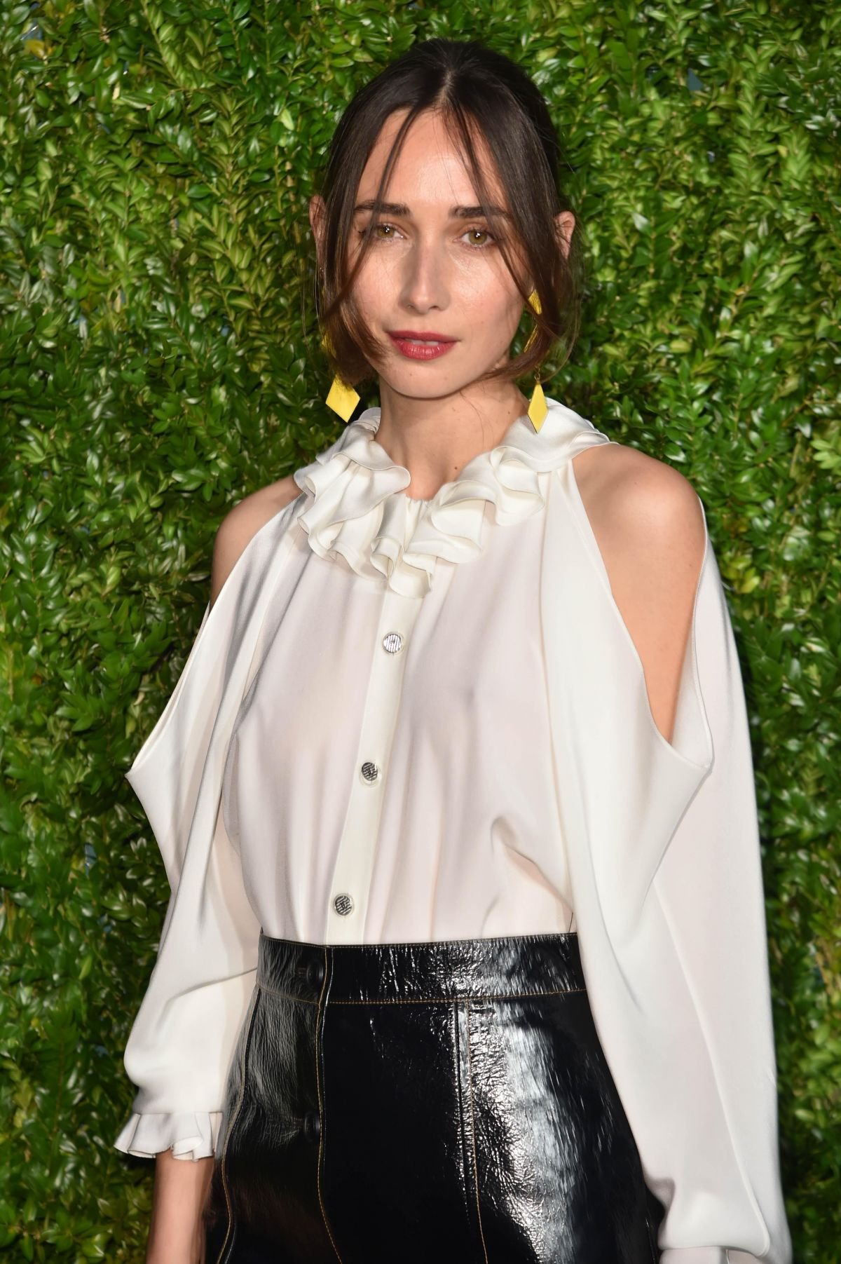 REBECCA DAYAN at Chanel Artists Dinner at Tribeca Film Festival in New York 04/24/2017