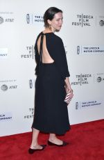 REBECCA HALL at Chuck Premiere at 2017 Tribeca Film Festival 04/28/2017