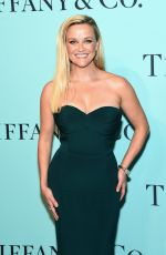 REESE WIHTERSPOON at Tiffany & Co. 2017 Blue Book Collection Gala in New York 04/21/2017