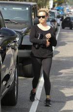 REESE WITHERSPOON leaves Yoga Class in Los Angeles 04/07/2017