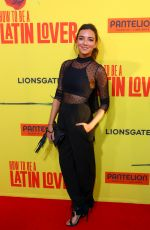REGINA BLANDON at How to be Latin Lover Premiere in Hollywood 04/26/2017