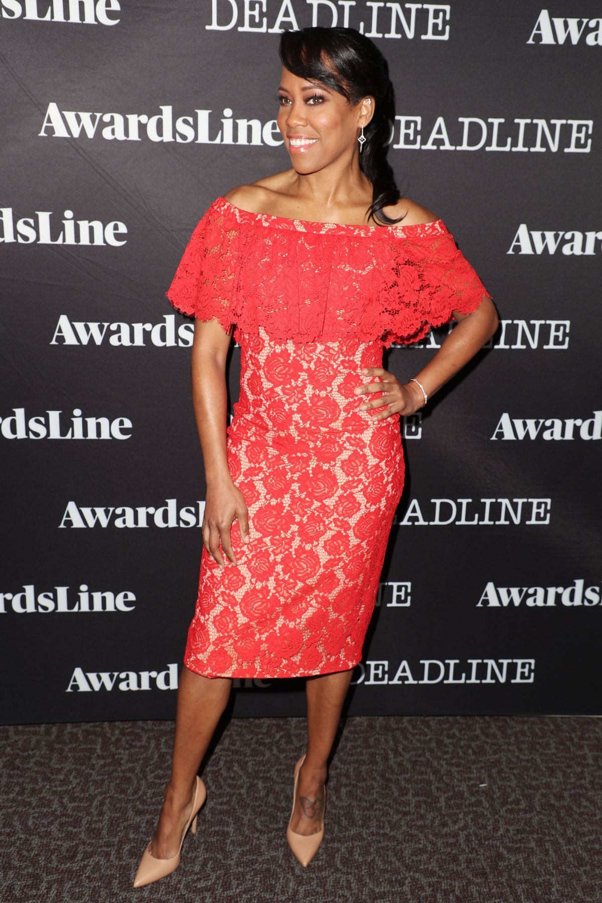 REGINA KING at Contenders Emmys Presented by Deadline in Los Angeles 04/09/2017