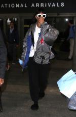RIHANNA at LAX Airport in Los Angeles 04/07/2017
