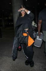 RIHANNA at Los Angeles International Airport 04/24/2017