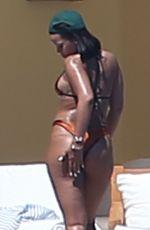 RIHANNA in Bikini on Vacation in Puerto Vallarta 04/14/2017