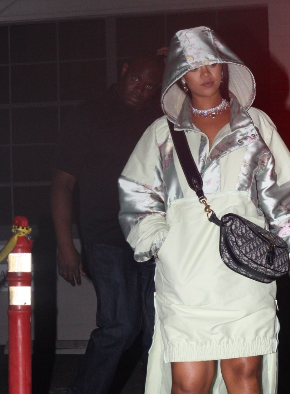 RIHANNA Out in Hollywood 04/18/2017