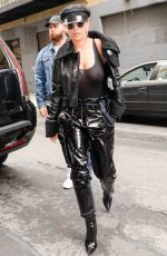 RITA ORA Arrive on the Set of a Photoshoot in New York 04/27/2017