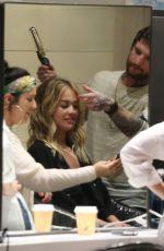 RITA ORA at a Hair Salon in Beverly Hills 04/12/2017