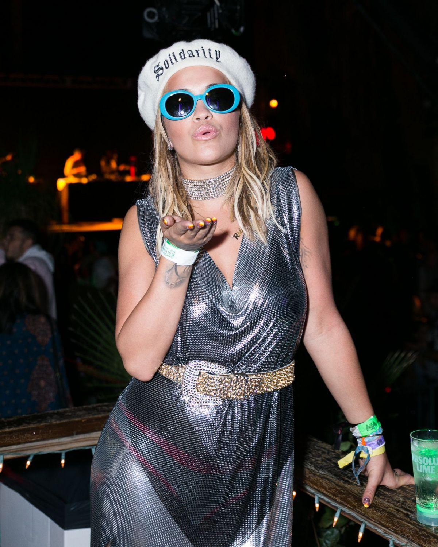 RITA ORA at Moschino Candy Crush Party at Coachella Festival in Indio 04/15/2017