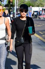 RITA ORA Heading to a Gym in Notting Hill 04/08/2017