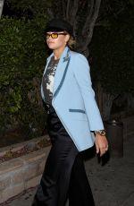 RITA ORA Leaves a Sushi Restaurant in Los Angeles 04/23/2017