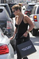 RITA ORA Out Shopping at Rodeo Drive in Los Angeles 04/12/2017