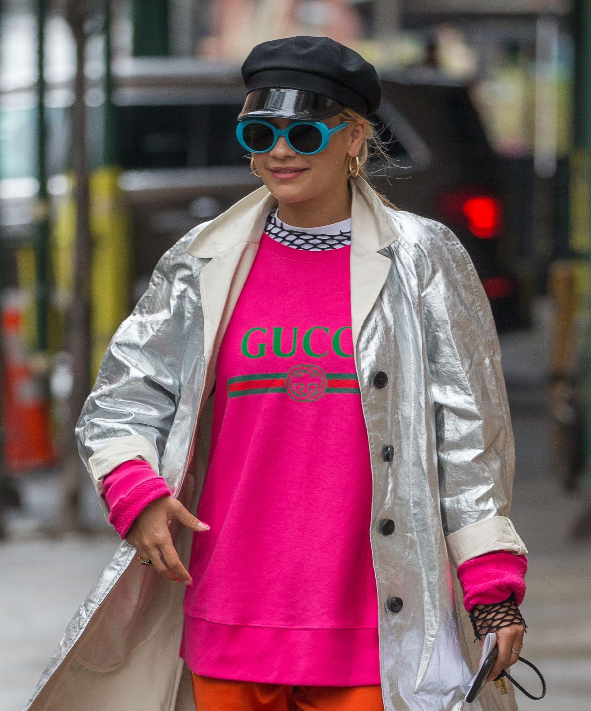 RITA ORA Out to Meeting with a Real Estate Broker in New York 04/26/2017