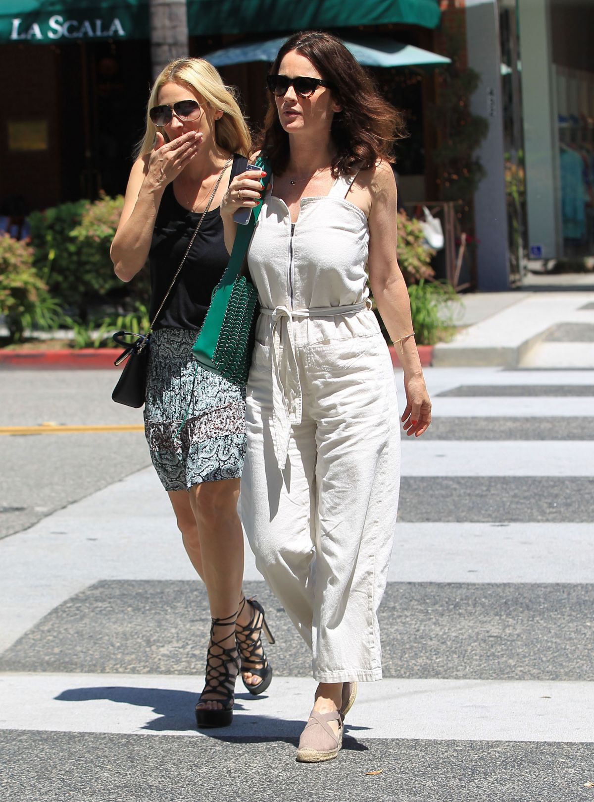 Robin Tunney Out For Lunch At La Scala In Beverly Hills 04