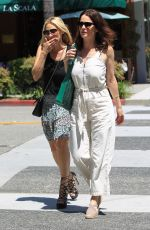 ROBIN TUNNEY Out for Lunch at La Scala in Beverly Hills 04/21/2017