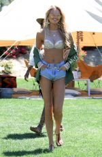ROMEE STRIJD at VS Angel Oasis at 2017 Coachella Music Festival in Indio 04/14/2017