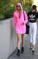 ROMEE STRIJD Out and About in Beverly Hills 04/17/2017
