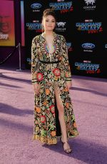 RONNI HAWK at Guardians of the Galaxy Vol. 2 Premiere in Hollywood 04/19/2017