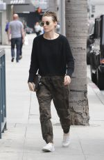 ROONEY MARA Out and About in Beverly Hills 04/26/2017
